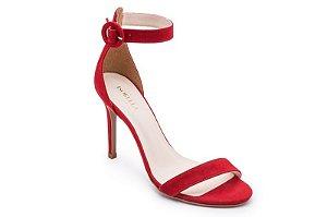Sandalia Ankle Strap RED VELVET