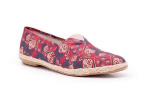 Espadrille Estampado Arabesco Cherry Skies