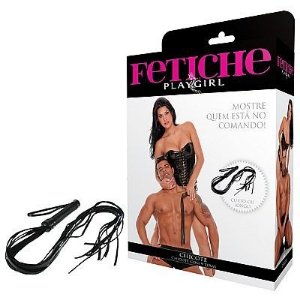 Chicote Longo 9 Tiras 90cm - Play Girl