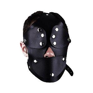 Máscara Capuz Preta LUX - DOMINATRIXXX