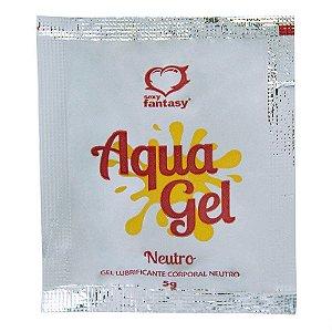Lubrificante Sachê  Aqua Gel NEUTRO 5ml - SEXY FANTASY