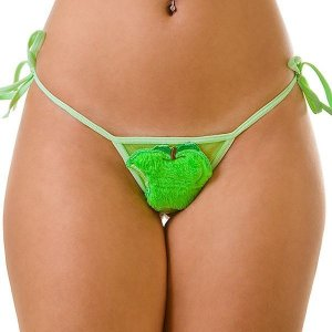 Tanga Maçã Verde de Amarrar - EVA Collection