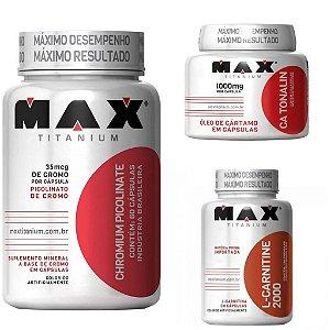 Combo Redutor de medidas - Max Titanium + Frete Grátis