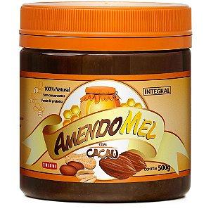 Pasta de Amendoim com mel e cacau - (Amendomel)