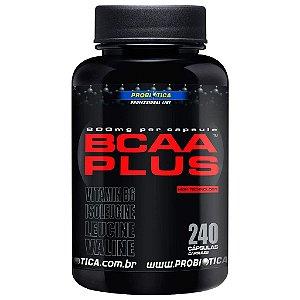 BCAA Plus 800 (240 cápsulas) - Probiótica