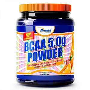BCAA 5.0g Powder c/Glutamina - 400g - Arnold Nutrition