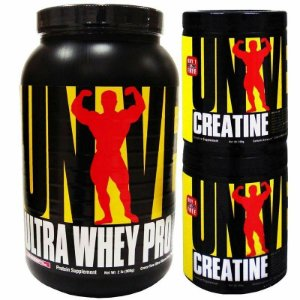 Kit Ultra Whey Pro + Creatina Universal 2 em 1 - Universal Nutrition