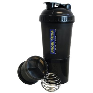 Coqueteleira Shaker - Pré e Pós Treino 4 compartimentos - Probiótica