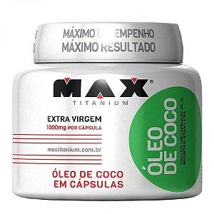 Óleo de Coco (100 caps) - Max Titanium