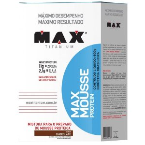 Max Mousse Protein (600g) - Max Titanium