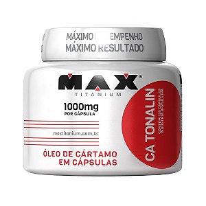 Oleo de Cartamo - (120 Cáps) - Max Titanium