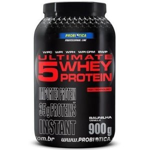 Ultimate 5 Whey Protein 900g - Probiótica