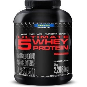 Ultimate 5 Whey Protein (2,2kg) - Probiótica