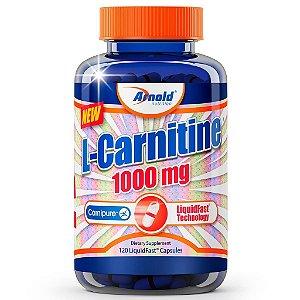 L-Carnitine 1000mg (120 Cápsulas) - Arnold Nutrition