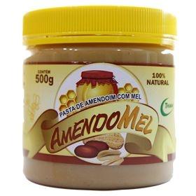 Pasta de Amendoim com mel (Amendomel) - 500g