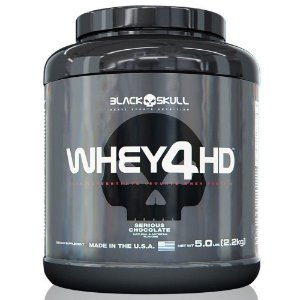 Whey 4HD - 2200g - Black Skull