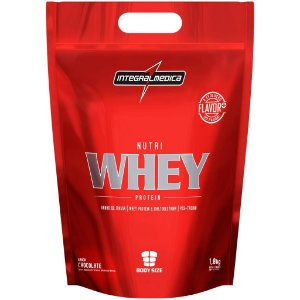 Nutri Whey Protein Refil - 1,8kg  - Integral Medica