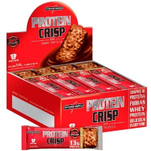Protein Crisp (12 barras) - Integral Medica