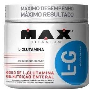 L - Glutamina - 600g - Max Titanium