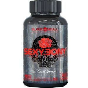 Sexy Bony (60 licaps) - Black Skull