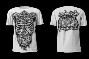 CAMISETA TORSO - DEAD METAL FROM THE GRAVE