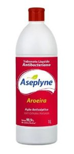Sabonete Antisséptico Líquido Aseplyne 1L Aroeira