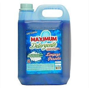 Detergente Maximum Amoniacal (Limpeza Pesada) 5L