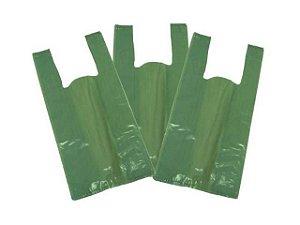 Sacola Reciclada Verde PEBD c/5kg