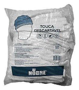 Touca Descartável Tam. Único Nobre c/100