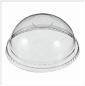 Tampa Transparente Cupula s/Furo c/50 Bompack (TB02504)