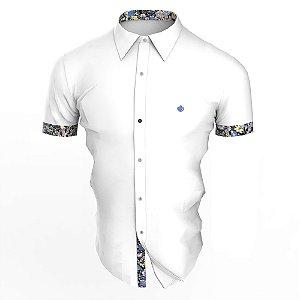 Camisa Branca Lilto Manga Curta