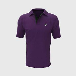 Camisa Polo Roxa