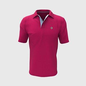 Camisa Polo Rosa Pink