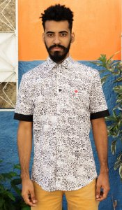 Camisa Toguá e Preto