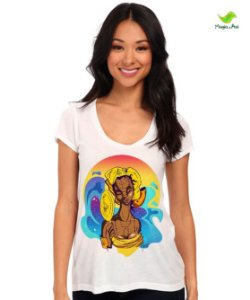 Camiseta Oxum, senhora das águas