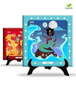Azulejo decorativo - Coleção Orixás em casa