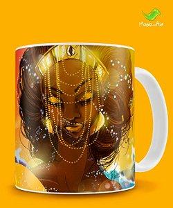 Caneca Oxum, senhora da riqueza