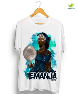 Camiseta Iemanjá, rainha das profundezas