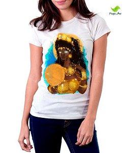 Camiseta Oxum, senhora da riqueza