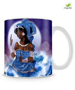 Caneca - Iemanjá, mãe das águas salgadas