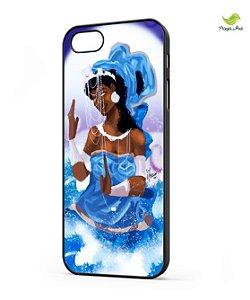 Case para celular - iemanjá, mãe das águas salgadas