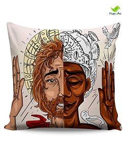 Almodafa 30x30cm - Jesus & Oxalá (Paz)