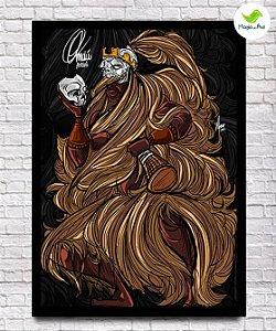 Pôster A3 - Omolu, o senhor dos espíritos