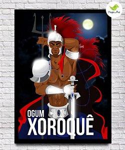 Pôster A3 - Ogum Xoroquê