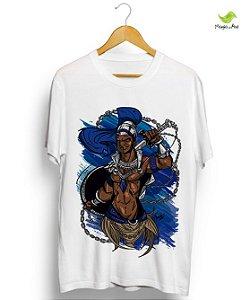 Camisas - Ogum Guerreiro azul