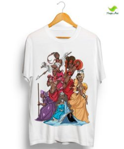 Camiseta - Rainhas do Axé