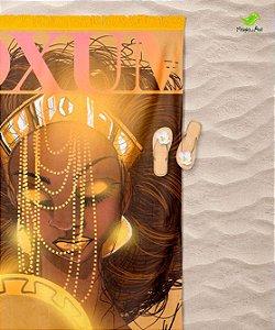 Canga de praia - Oxum, rainha da beleza