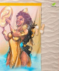 Canga de praia - Oxum, rainha