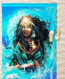 Cangas de praia - Yemonjá, rainha dos oceanos