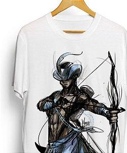 Camiseta - Oxóssi, o arqueiro do Órun